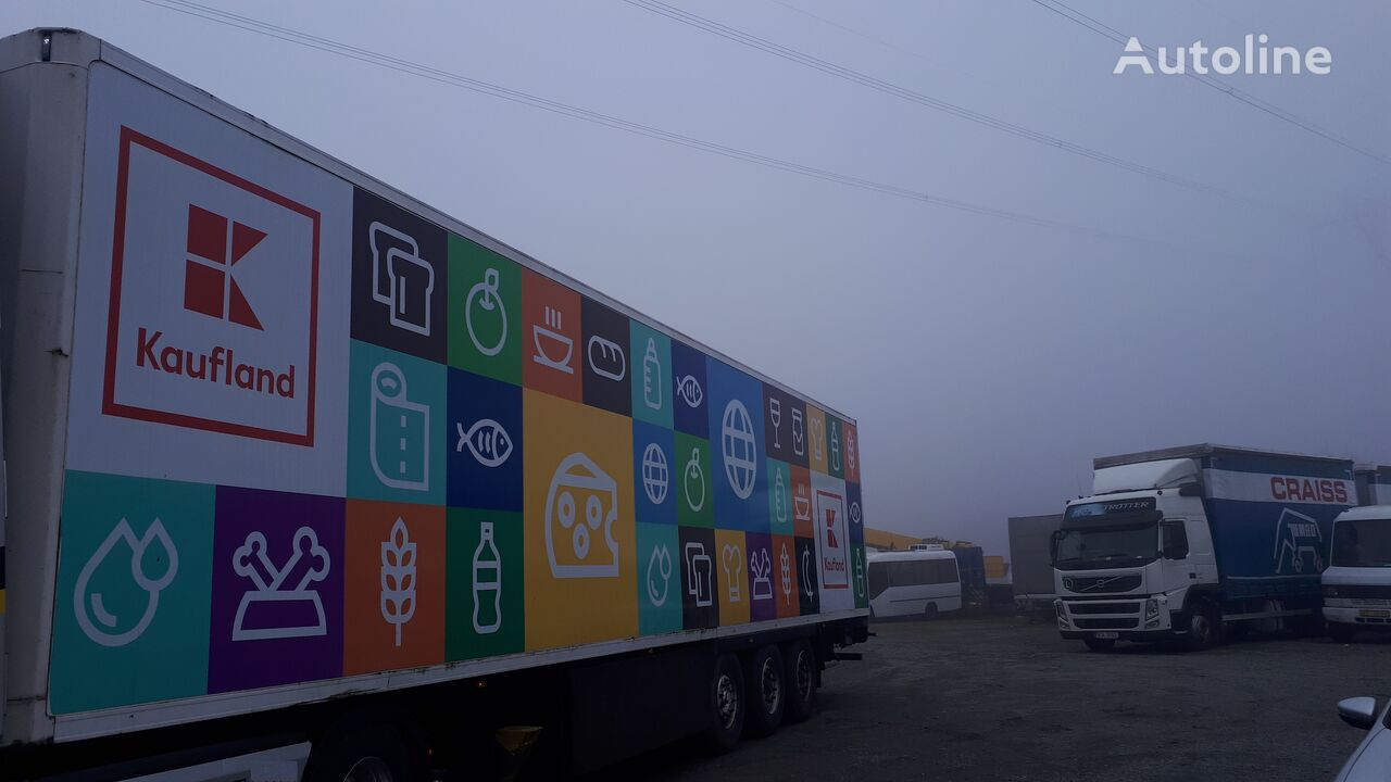LAMBERET LVFS3  refrigerated semi-trailer