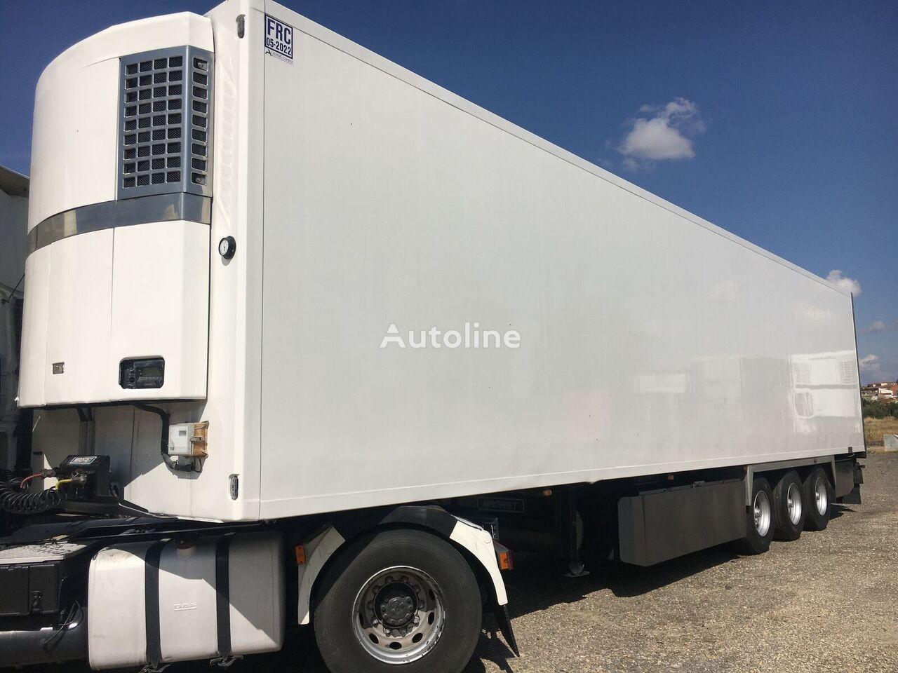 MIROFRET 2,70 INTERIOR. PISO ALUMINIO.  refrigerated semi-trailer