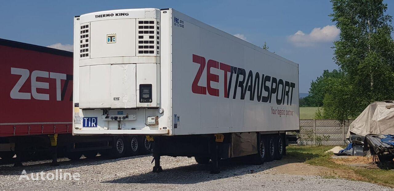 SCHMITZ CARGOBULL CHŁODNIA THERMO KING SL200 /sciana 7 cm / SAF / DISC / 2007 refrigerated semi-trailer