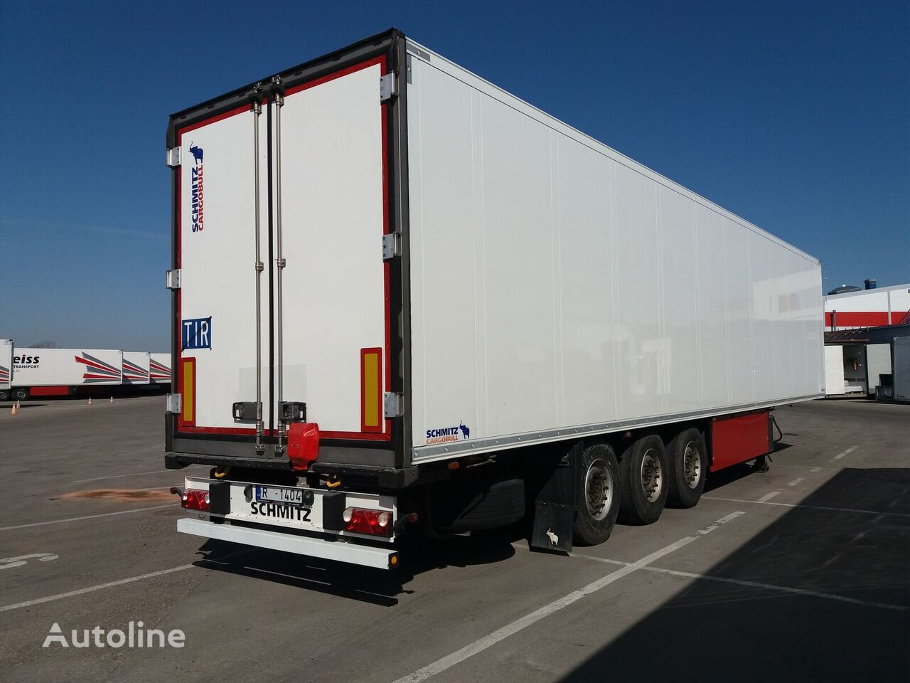 SCHMITZ CARGOBULL SKO 24  refrigerated semi-trailer