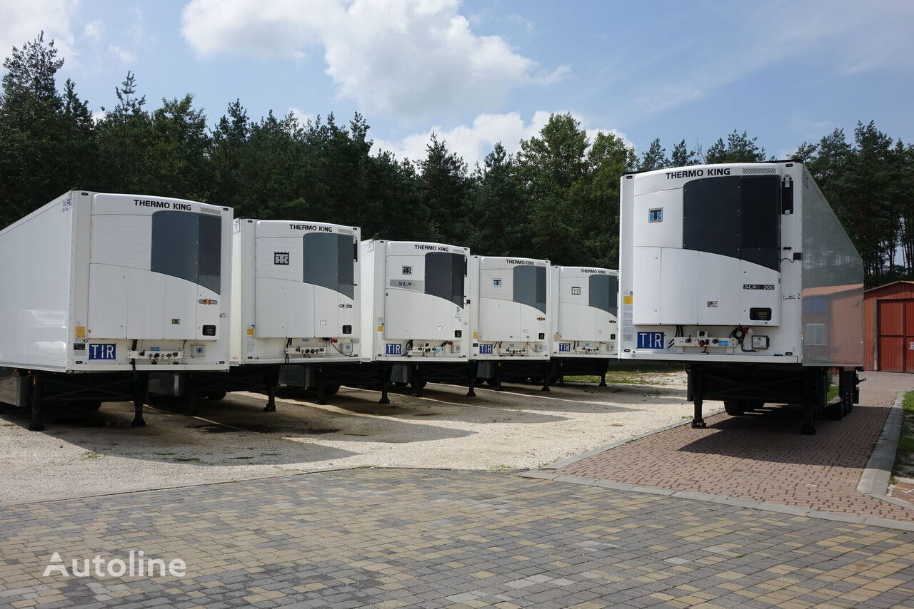 SCHMITZ CARGOBULL  SKO 24 / DOPPELstock / THERMOKING refrigerated semi-trailer