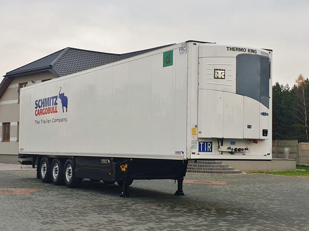 SCHMITZ CARGOBULL THERMO KING SLX 400e / DOPPELSTOCK / 2012 refrigerated semi-trailer