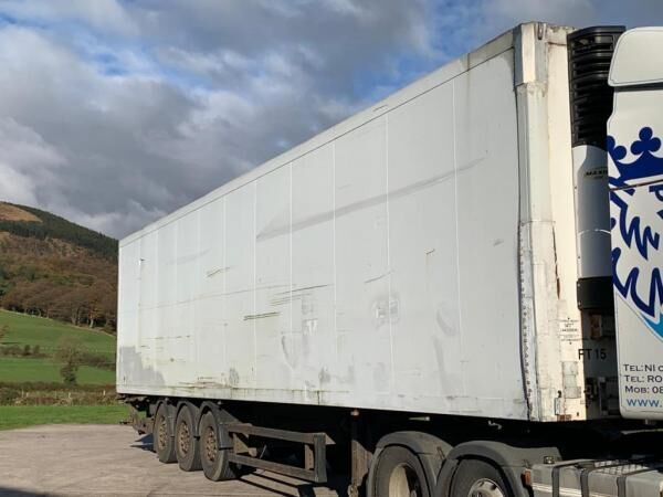 Schmitz Fridge Trailer refrigerated semi-trailer
