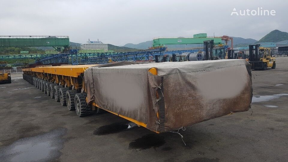 SCHEUERLE self-propelled modular transporter