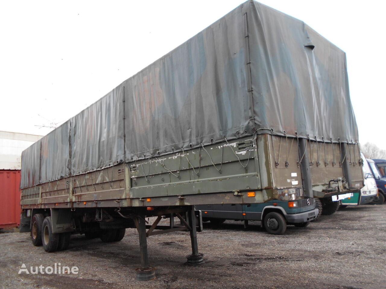 BLUMHARDT met bladvering  tilt semi-trailer