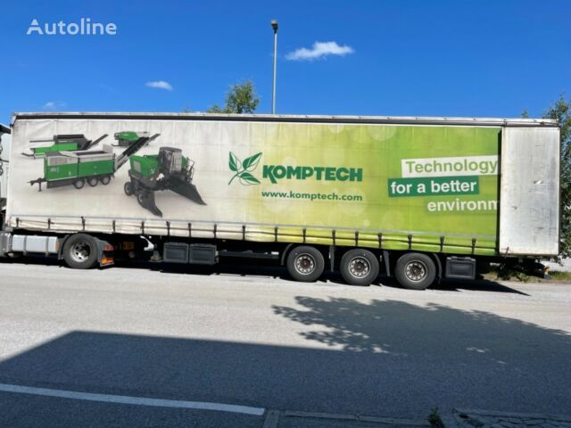KÖGEL SN 24, Hubdach, Liftachse tilt semi-trailer