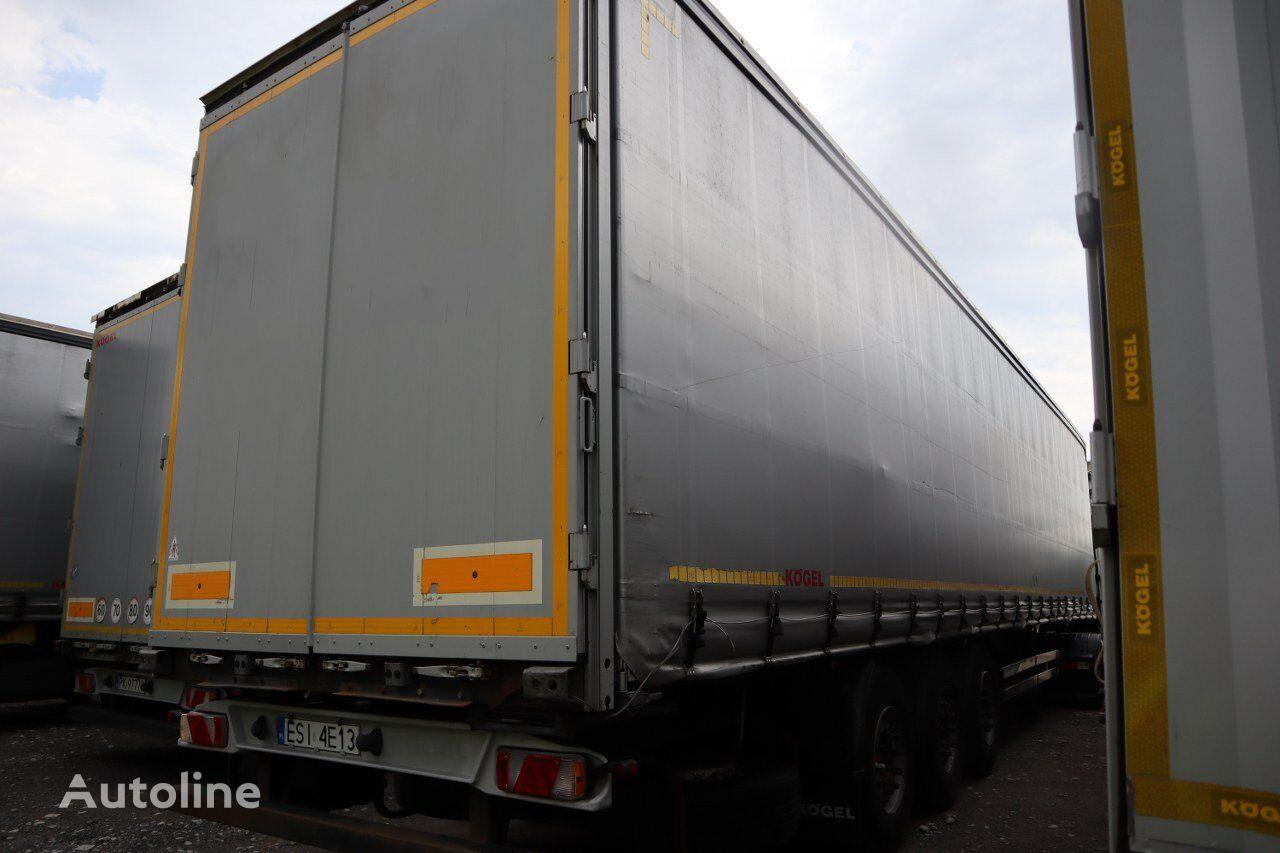 KÖGEL SN24 tilt semi-trailer