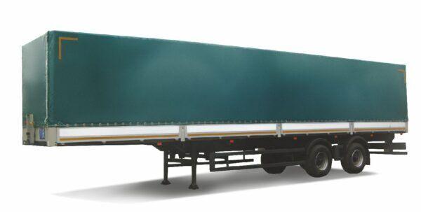 new MAZ 931010-3020 tilt semi-trailer