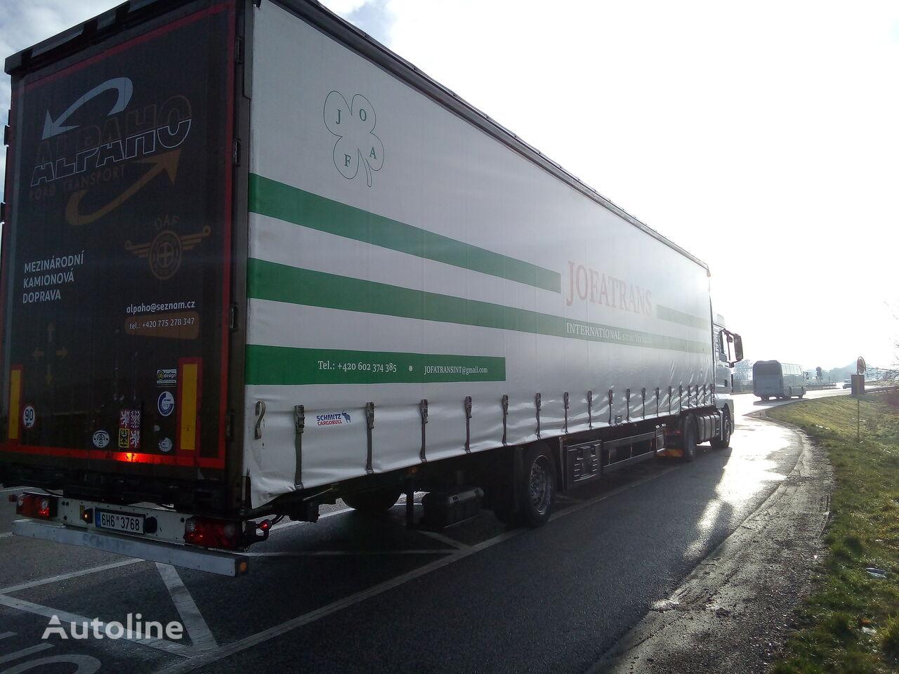SCHMITZ CARGOBULL 1 osý tilt semi-trailer