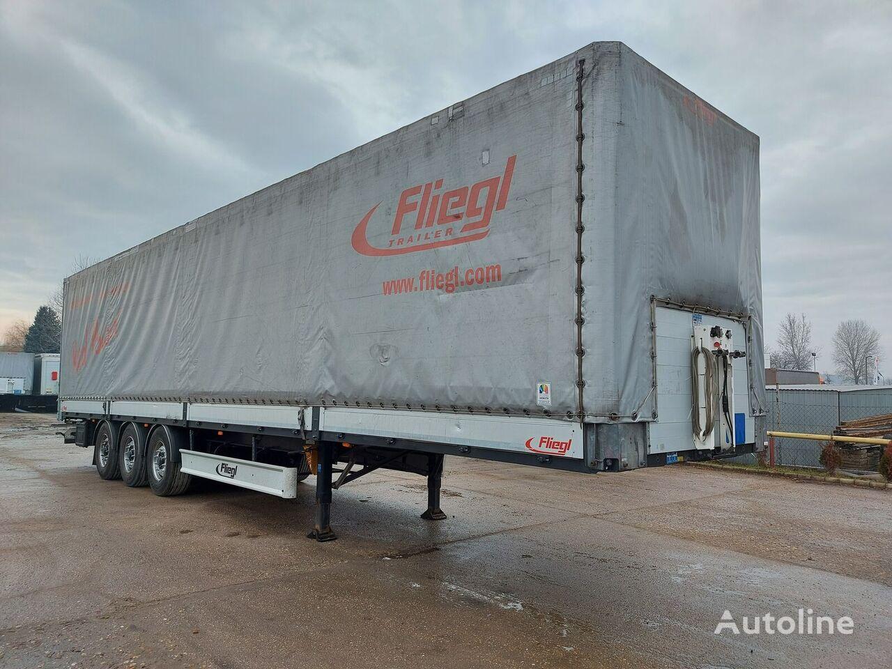 FLIEGL Alu sides Lift Axl  more pcs.  Standard tilt semi-trailer
