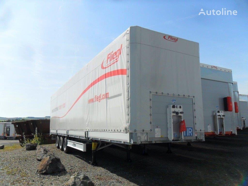 new FLIEGL SDS 350 tilt semi-trailer