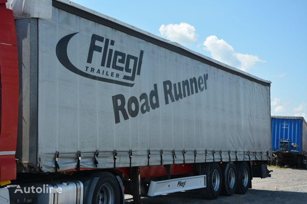 FLIEGL SDS 350 tilt semi-trailer