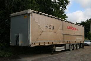 HUMBAUR HSA 351324 S - 3axle trailer tilt semi-trailer