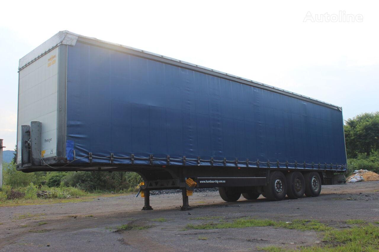 HUMBAUR saf tilt semi-trailer