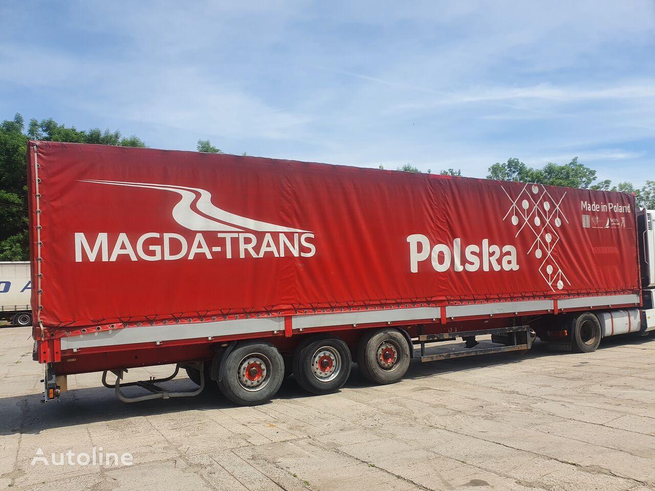 KÖGEL Kogel BURTOPLANDEKA BPW  tilt semi-trailer