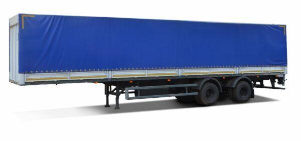 new MAZ 938662-2010 tilt semi-trailer