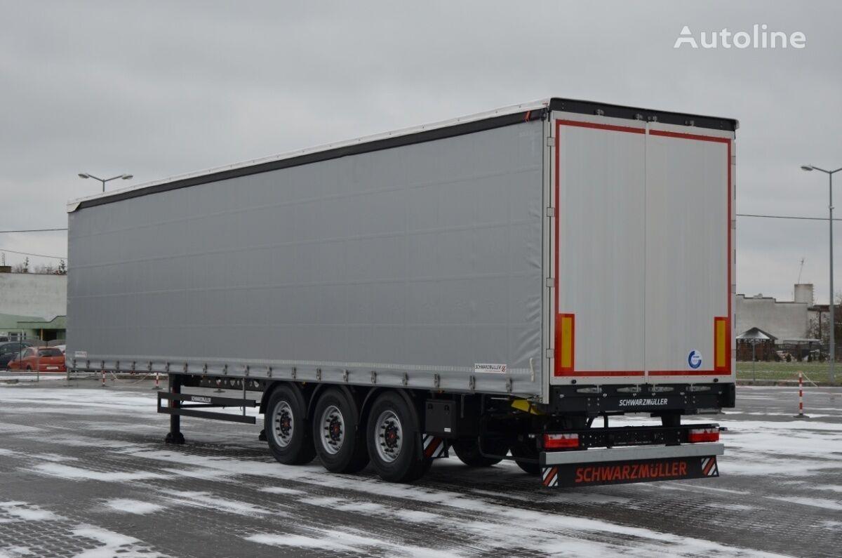 new SCHWARZMÜLLER POWERLINE NOWA 2021r OS POD DACH POD tilt semi-trailer