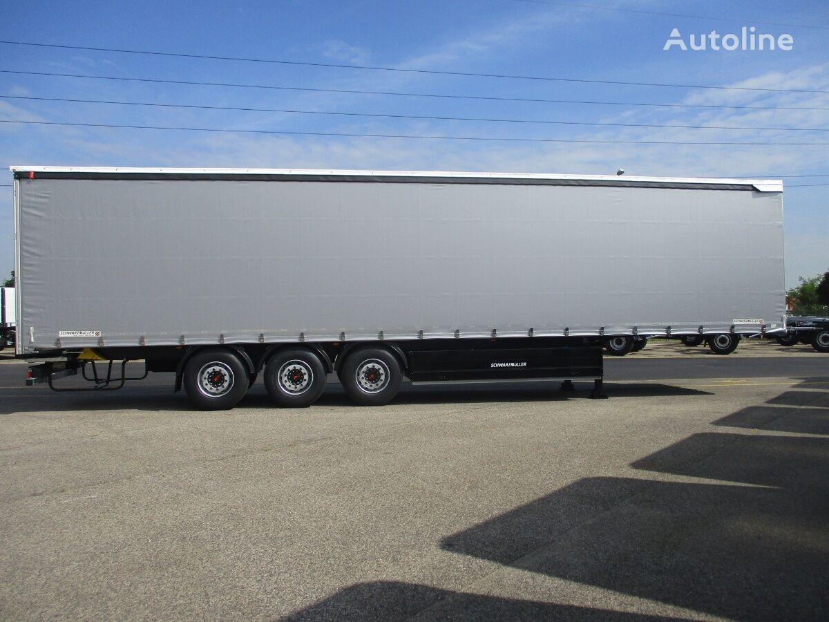 new SCHWARZMÜLLER POWERLINE NOWA 2021r OS POD KOSZ PAL tilt semi-trailer
