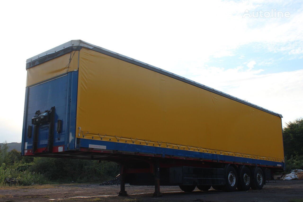 SCHWARZMÜLLER mercedes tilt semi-trailer