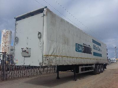 TRAILOR TAULINER tilt semi-trailer