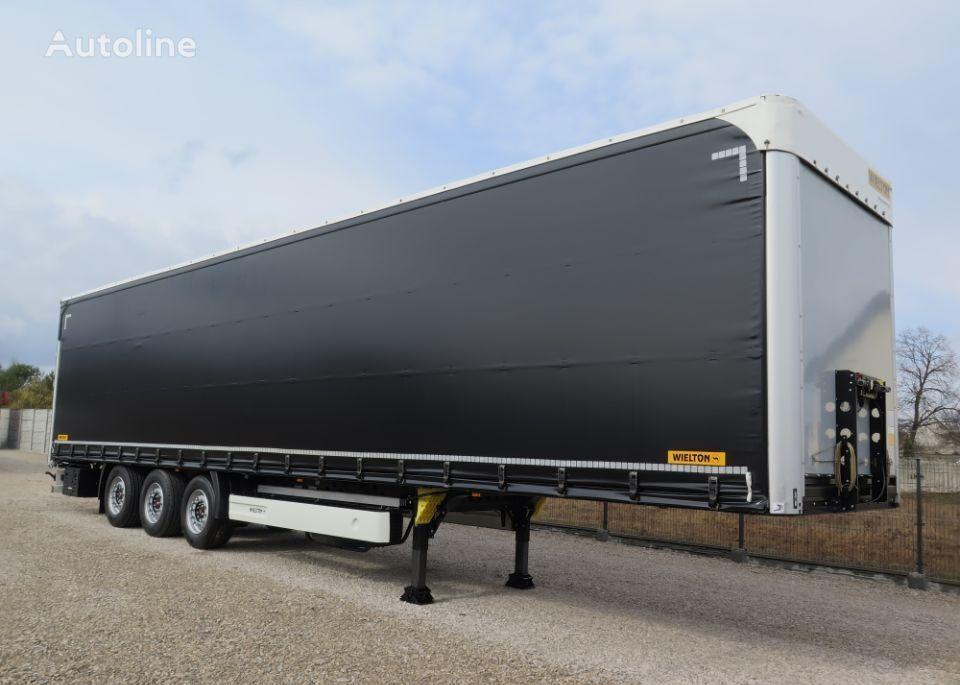 WIELTON NS3K - FIRANKA, MEDIUM, PODNOSZONY DACH tilt semi-trailer
