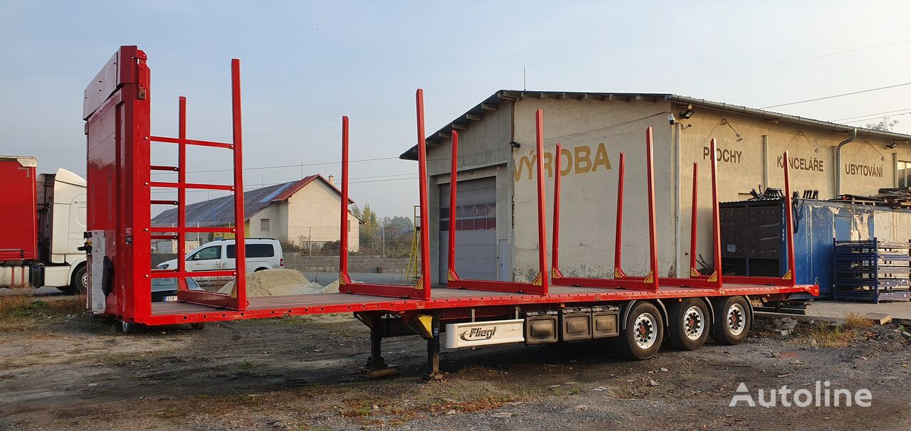 FLIEGL SDS390 timber semi-trailer