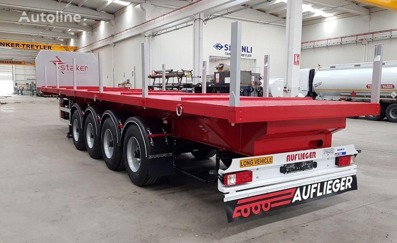 new SINAN TANKER-TREYLER Flat Bed - Special Tipper Platform timber semi-trailer