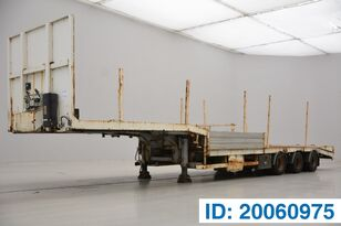 ASCA LOW BED TRAILER timber semi-trailer