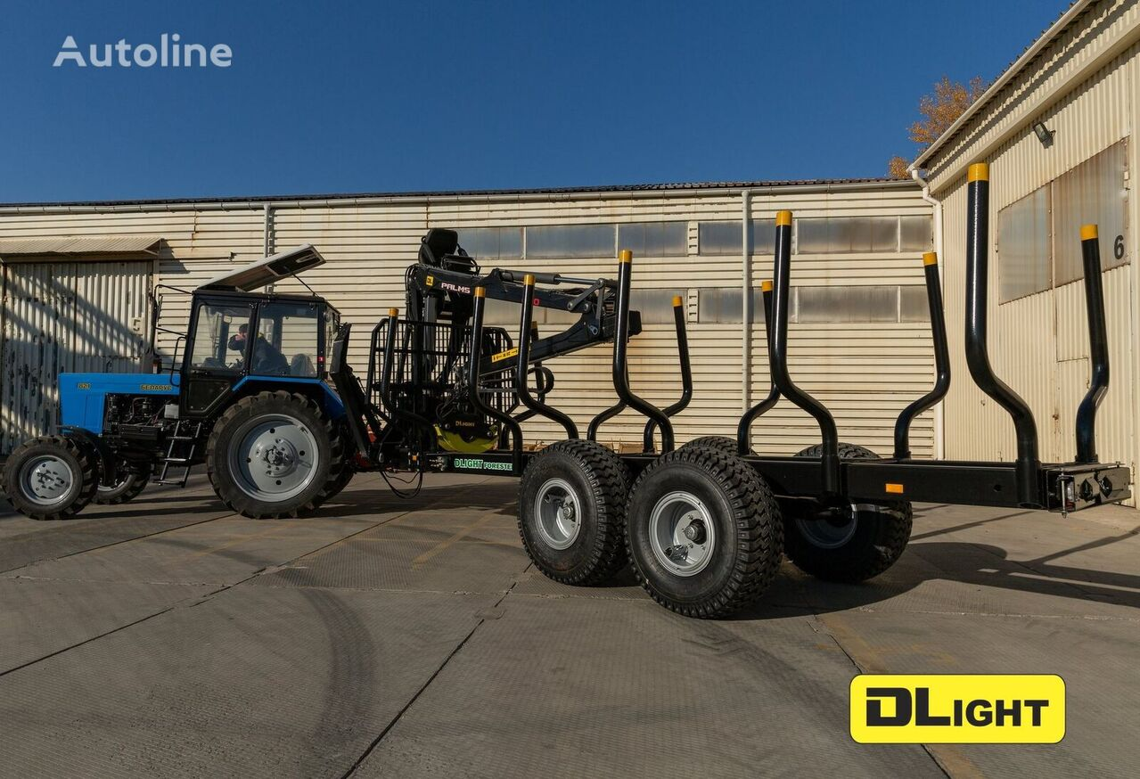 new DLight Forester timber semi-trailer
