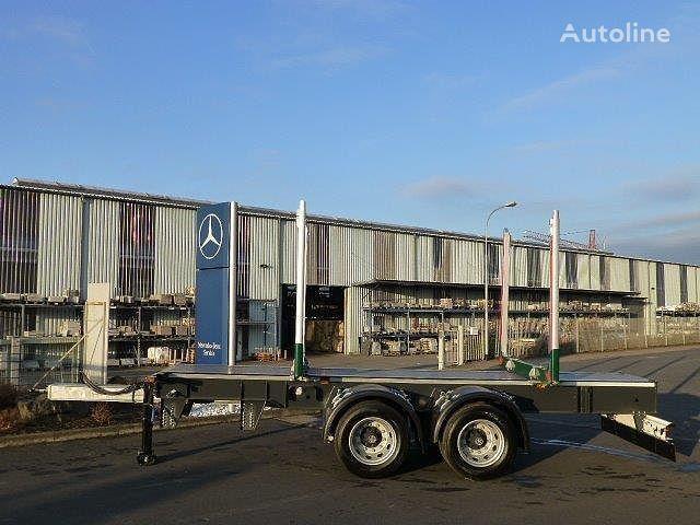 new EBERT KHZA 18 Tandem-Kurzholz-Anhänger NEU timber semi-trailer