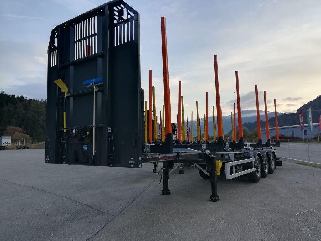 new GSODAM 5 STÜCK SOFORT VERFÜGBAR ! timber semi-trailer
