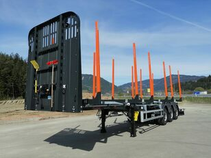 new GSODAM CLASSIC LINE timber semi-trailer