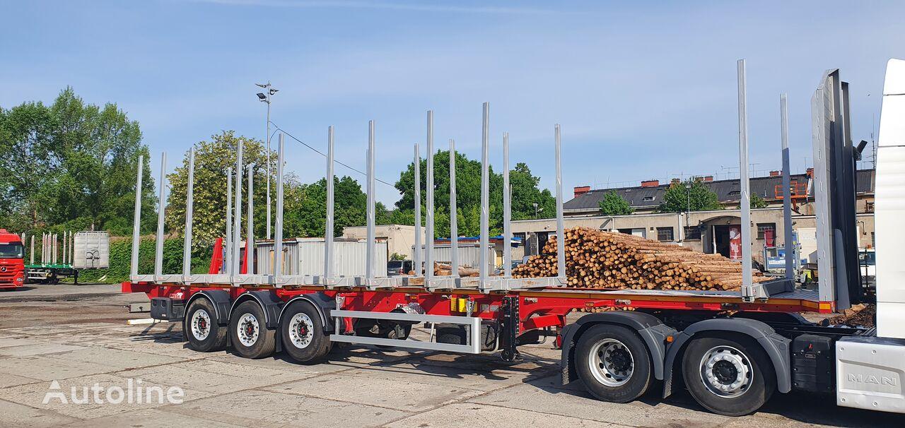 MEGA MND timber semi-trailer