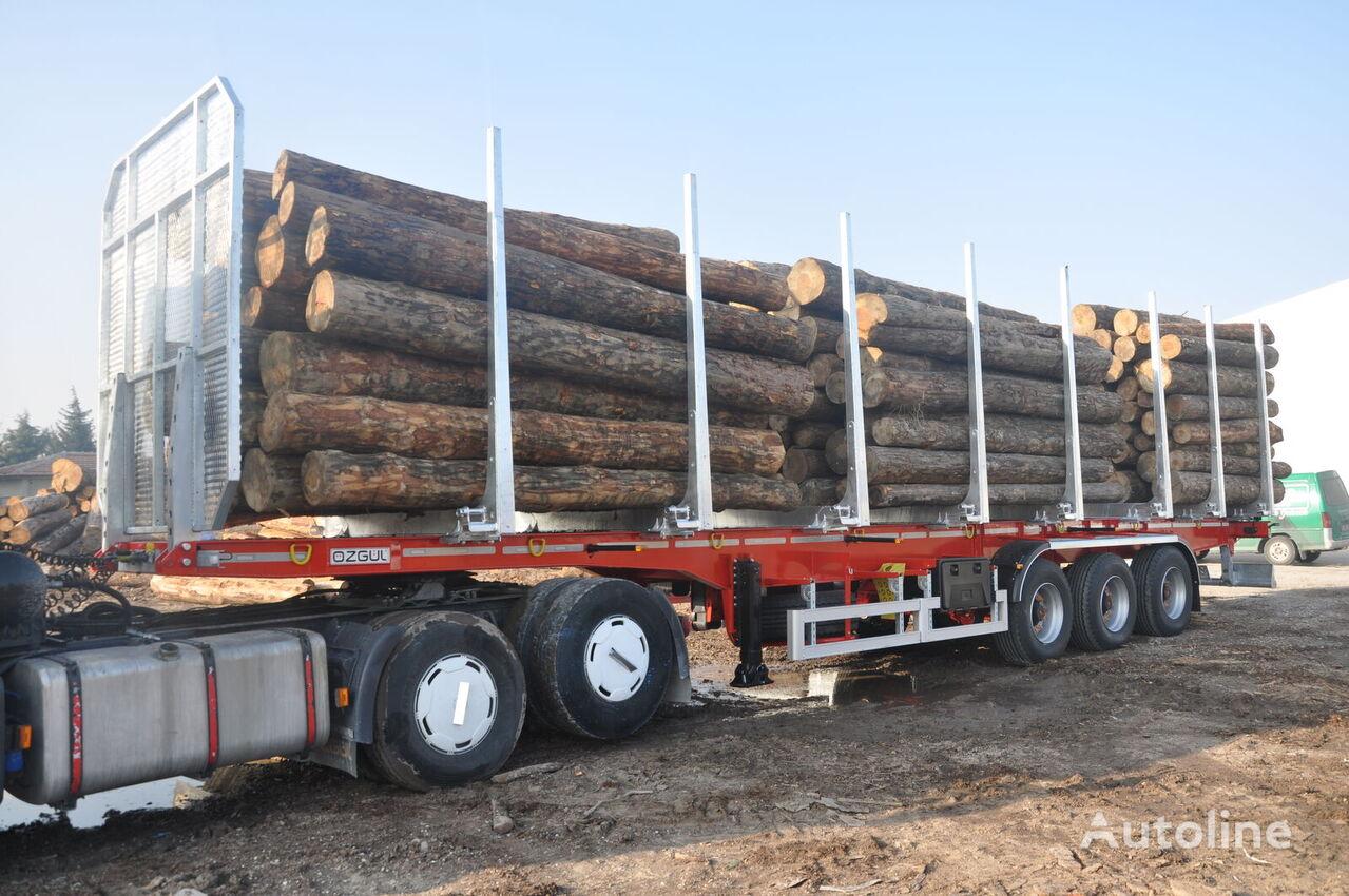 new OZGUL timber semi-trailer