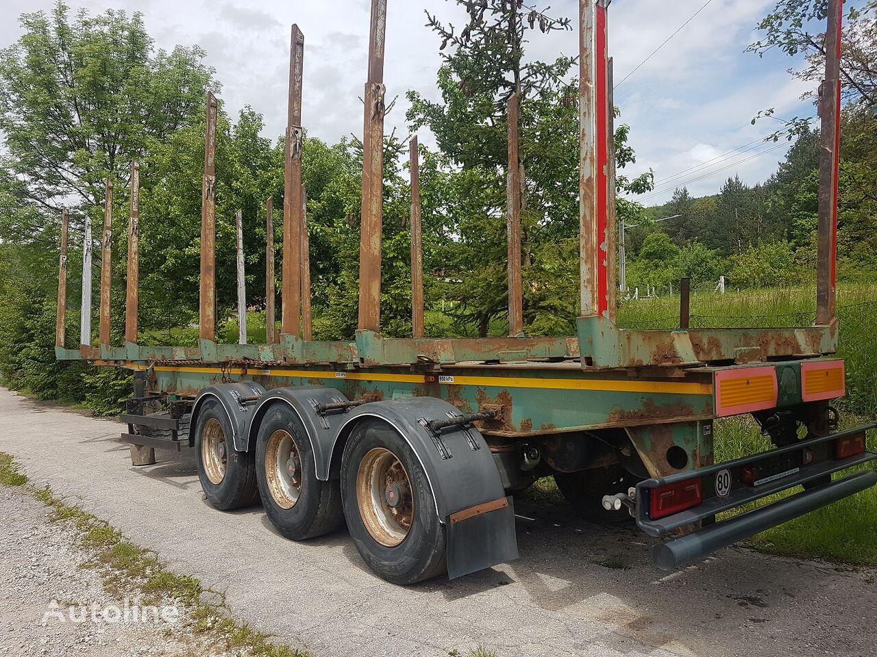 PANAV RCH wood carrier timber semi-trailer