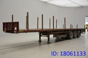 VAN HOOL PLATEAU timber semi-trailer