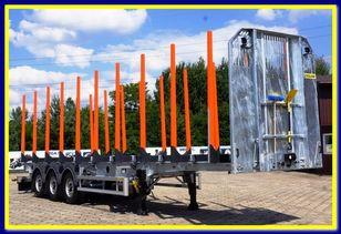 new ZASLAW TRAILIS 4.600 KG Super Light Timber semi-trailer - READY !!! timber semi-trailer