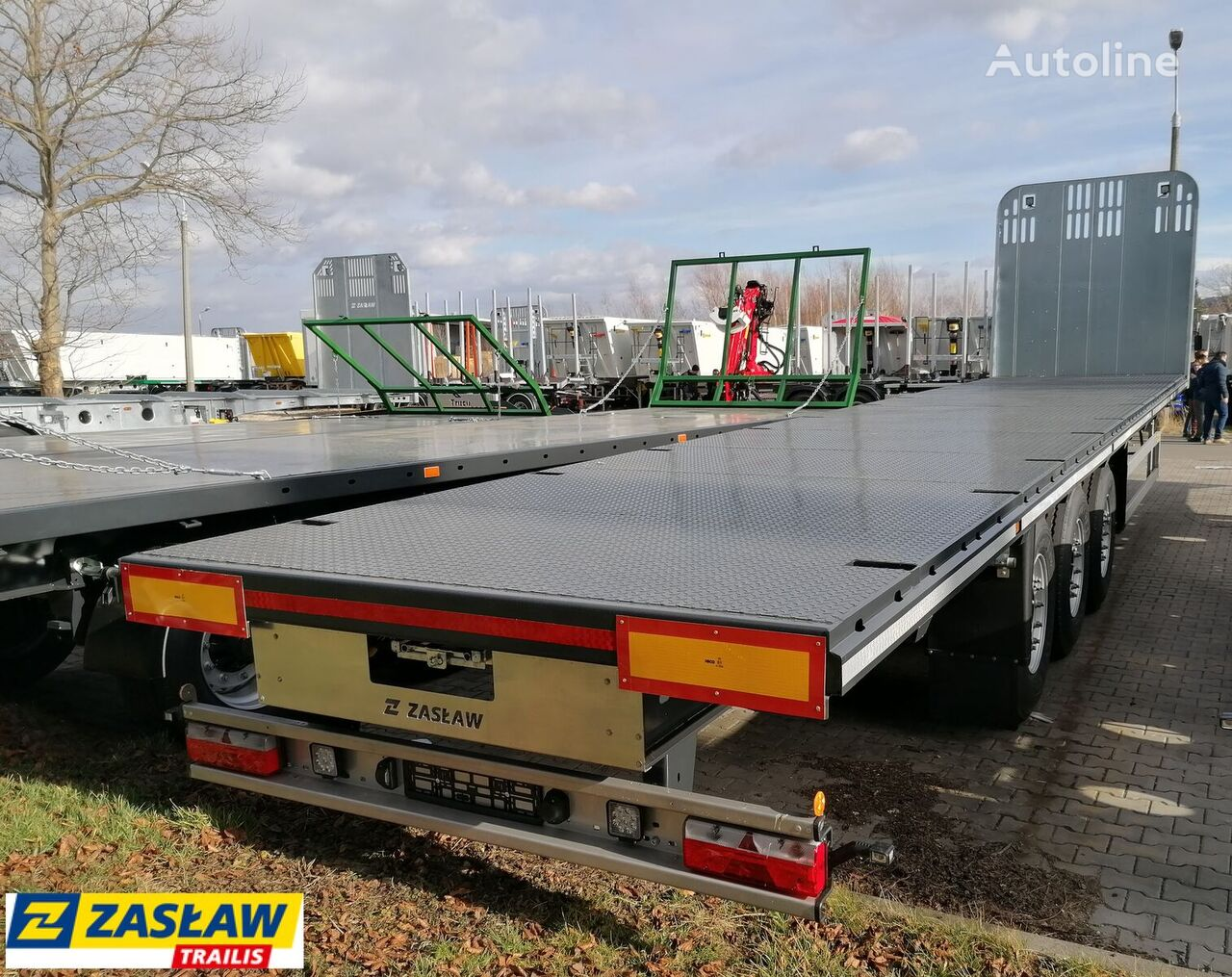 new ZASLAW TRAILIS 651.NL.13.PK timber semi-trailer