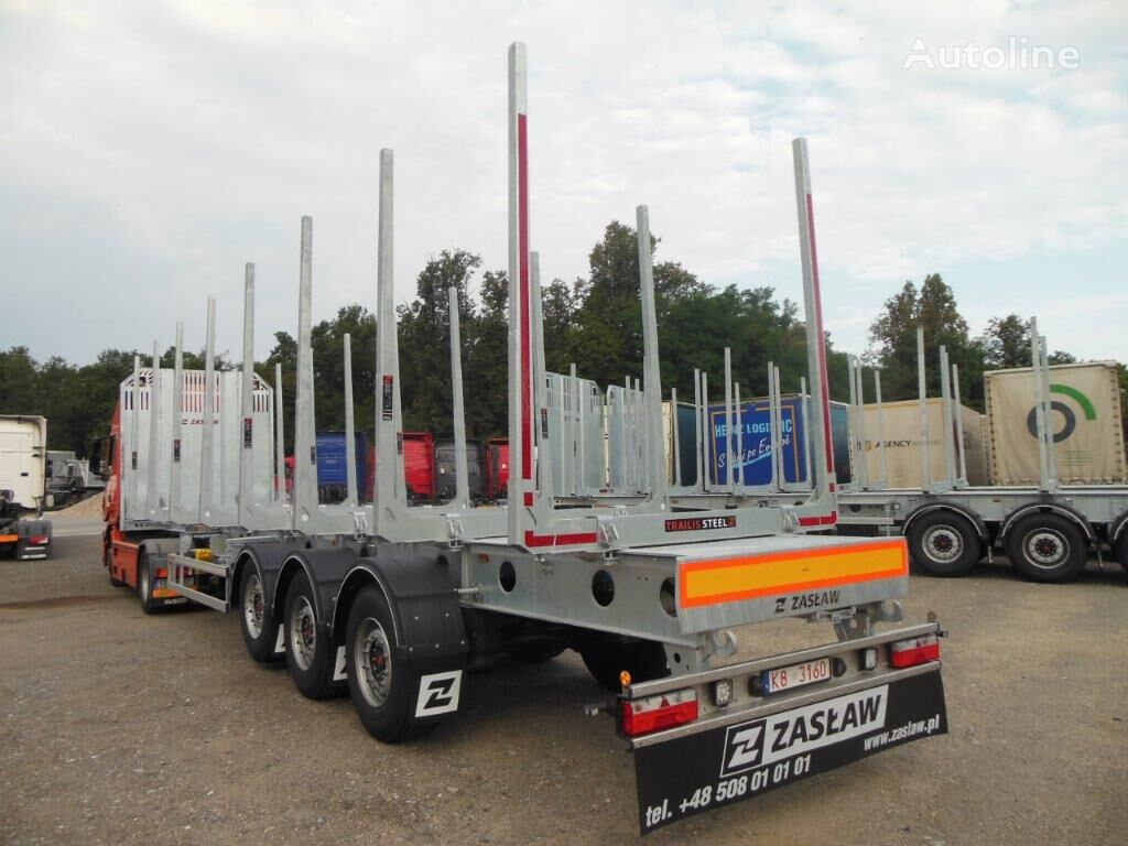 new ZASLAW TRAILIS D-651A timber semi-trailer