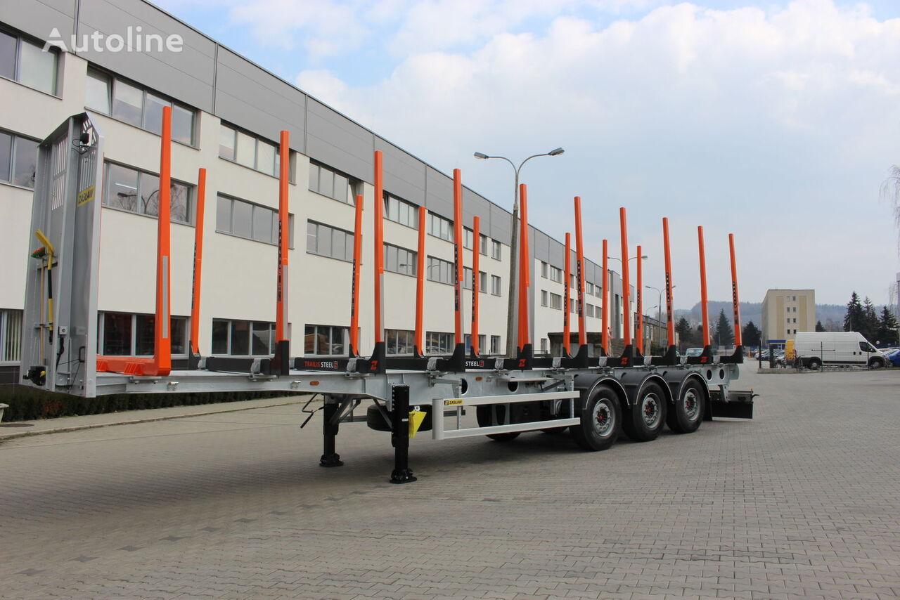 new ZASLAW TRAILIS NL.13.KP timber semi-trailer