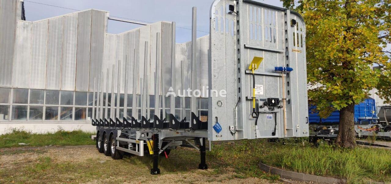 ZASLAW TRAILIS NW.72.14.AKZ.S timber semi-trailer