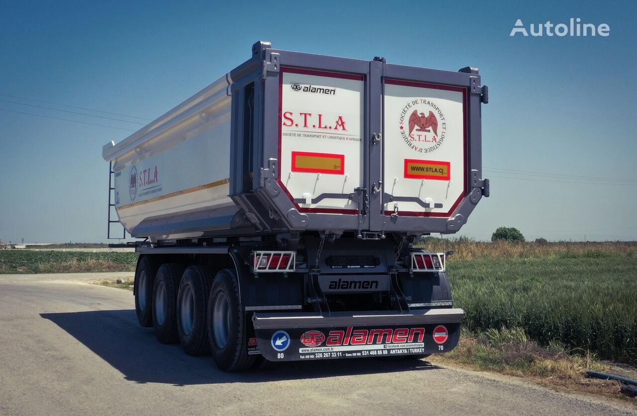 new ALAMEN 22 to 60 m3 Tipper trailer tipper semi-trailer