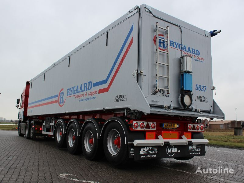 new AMT Trailer TF400 tipper semi-trailer
