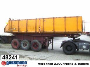 BLUMHARDT SAK 38.22/70e, ca. 20 m³ tipper semi-trailer