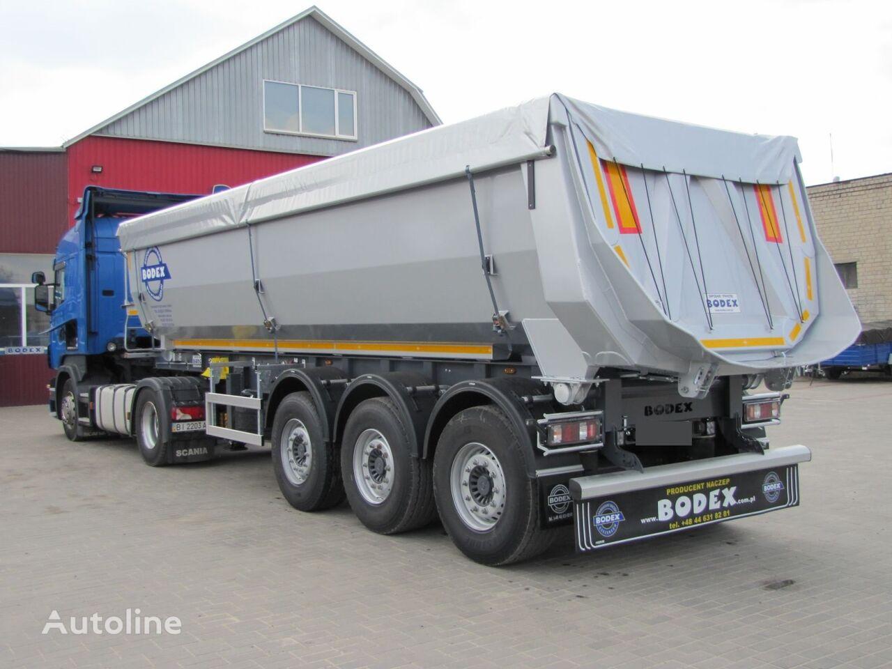 BODEX SAF 30 m3 SAF HARDOX Intrax Osi obsluzheni gotoviy v robotu! tipper semi-trailer