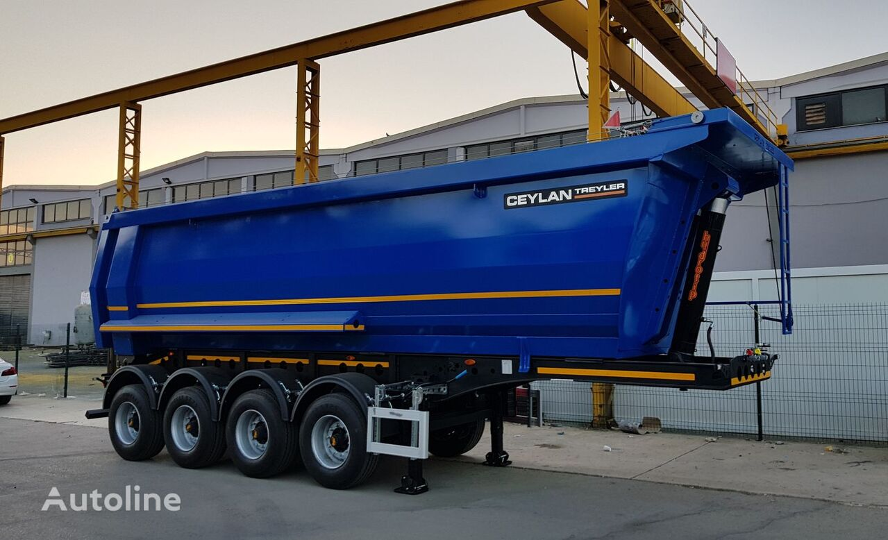 new CEYLAN 35-40 M3 Made for Africa tipper semi-trailer
