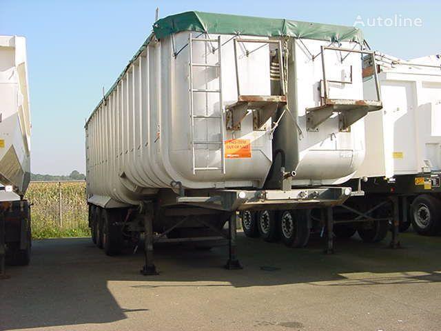 CRANE FRUEHAUF 04 DA / Aluminium tipper semi-trailer
