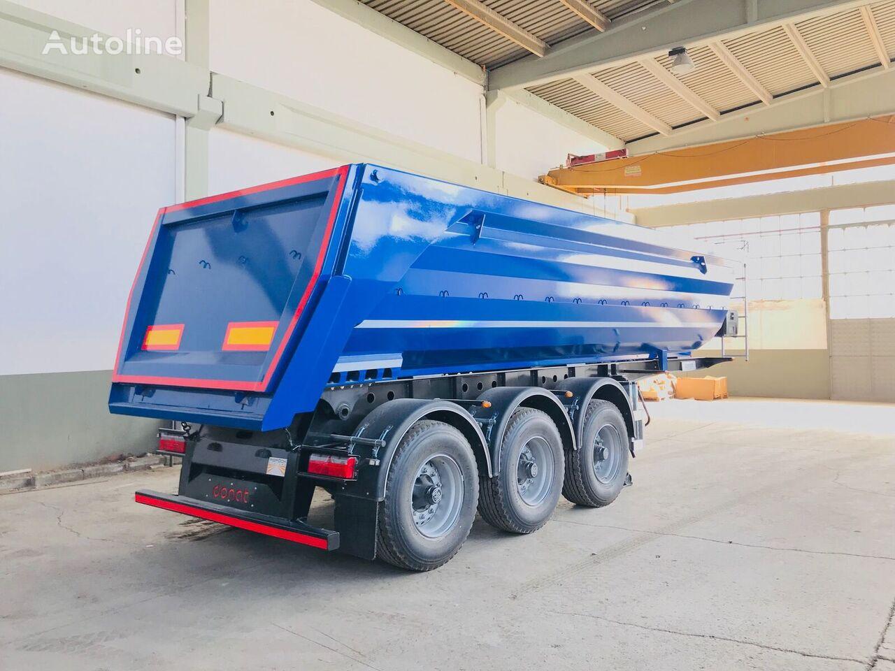 new DONAT Half-Pipe Semitrailer - HARDOX - ASPOCK tipper semi-trailer