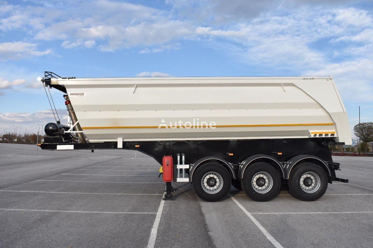 new DONAT U-Type (half-pipe) Hardox Tipper tipper semi-trailer