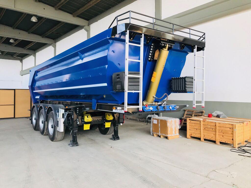new DONAT Samosvalnyy polupricep tipper semi-trailer